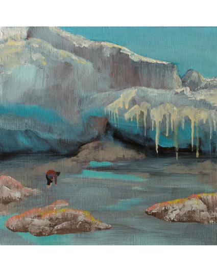 画像1: 吉行鮎子「どこかの氷山近く」