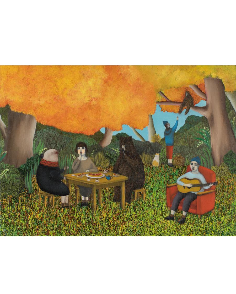 画像1: 吉行鮎子「秋ですね」