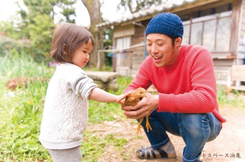 小野豊一の型染 油亀のweb通販<撮影:アートスペース油亀>